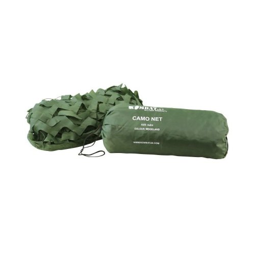 Kombat Camouflage Netting With Mesh Rope Backing 3 x 2M Green