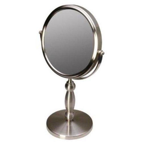 Floxite FL-15V 15x-1x Brushed Nickel Vanity Mirror