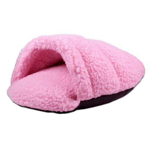 Fashion Washable Pet Supplies Pet Bed Cat Bed Cat Nest Sleeping Bag for Cat , Pink