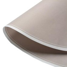 10Pcs Round Art Paper Flowers Wrapping Paper Gift Packaging Paper, Khaki