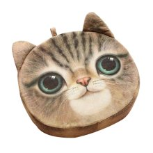 Cat Pillow Washable Cushion Christmas Gift Fashion Pillow D