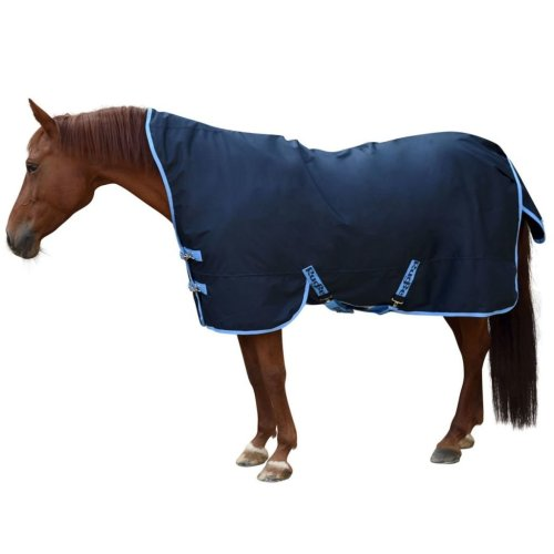 Kerbl Horse Rug RugBe HighNeck Blue 125 cm 328664