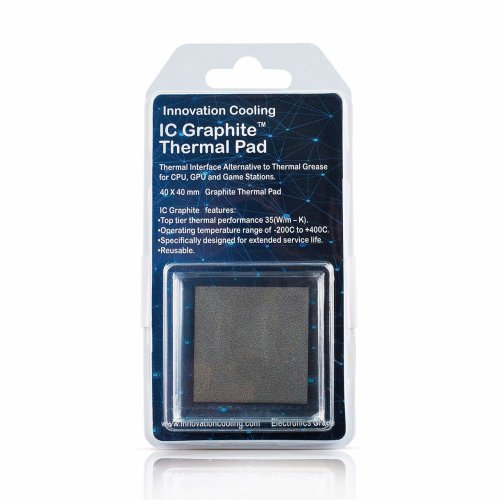 Innovation Cooling LLC IC Graphite Thermal Pad (40 X 40 mm) …