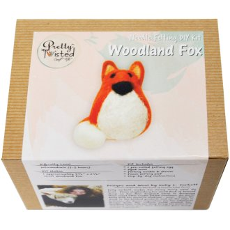 Pretty Twisted Kelly L. Corbett Needle Felting Diy Kit-Fox