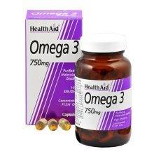 Healthaid Omega 3 750mg (epa 425mg  Dha 325mg) Capsules 60's