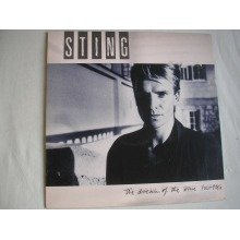 STING - The Dream Of The Blue Turtles UK LP + inner 1985 ex/ex