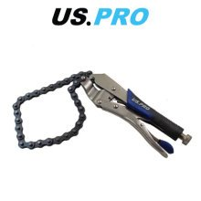 US PRO Locking Chain Snap Wrench Spanner Car Oil Filter Remover 1678