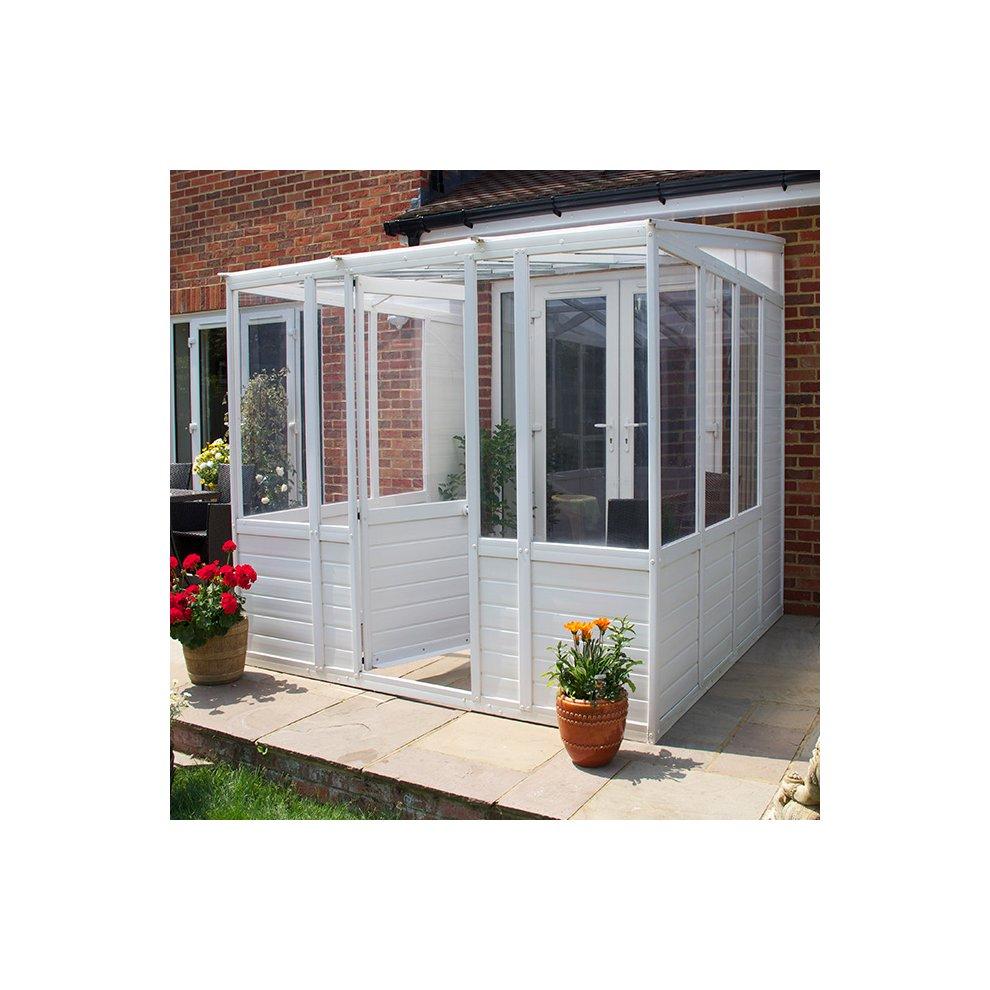 Upvc Lean To Sunroom Plastic Garden Room On Onbuy