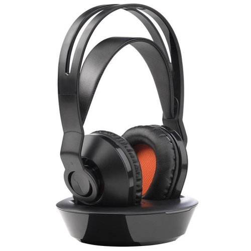 One For All Rechargeable Wireless Headphone - Black (Model No. HP1030)