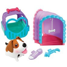 Chubby Puppies Tunnel Mini Playset Plus Carrier