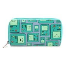 Adventure Time Beemo BMO Video Games Console All-Over Pattern Purse Wallet