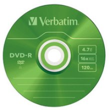 Verbatim DVD-R Colour 4.7GB DVD-R 5pc(s)