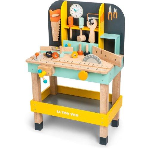 Le Toy Van Cars Construction Alexs Work Bench