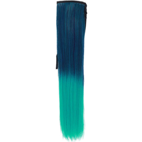 Wig Cauda Equina/Long Straight Braided Ponytail Wig/Gradient Belt Type False