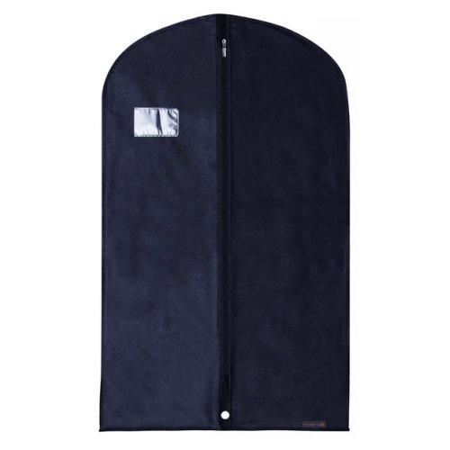"Hangerworld 40"" Navy Breathable Suit Covers Clothes Protector Bags"
