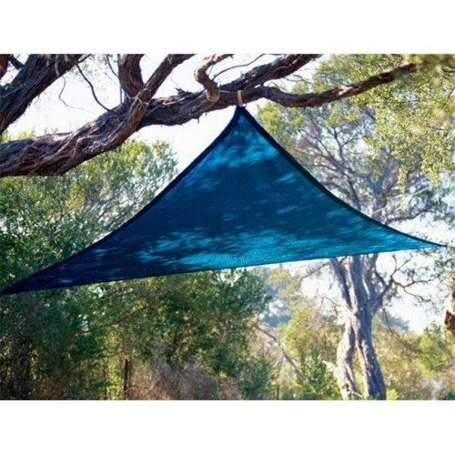 Coolaroo 799870434502 Kool Kolors Sail 9 ft. 10 in. Triangle Blue