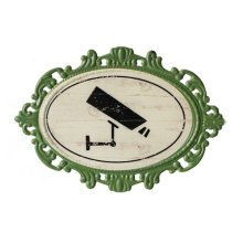 Decorative Wall Hanging Wall Accent Wall Door Hanging Plaques Camera Sign