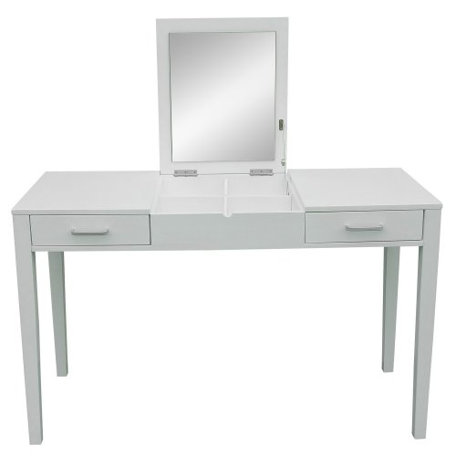 Dressing Table Writing Table Desk with Vanity Mirror Drawer