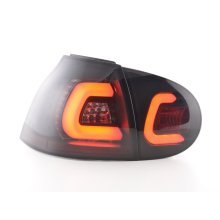 Led Taillights VW Golf 5 Year 03-08 black