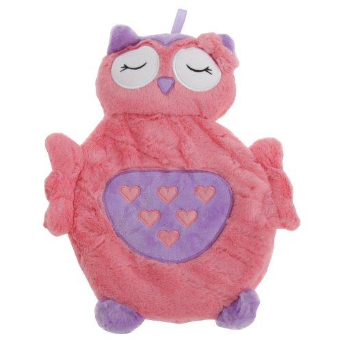 Childrens/Kids Plush Owl Hot Water Bottle Cover