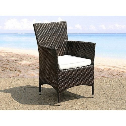 Wicker Outdoor Dining Chair - Garden and Patio Chairs - Model ITALY