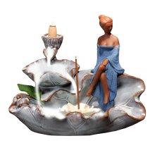 Ceramic Censer Incense Smoke Cone Burner