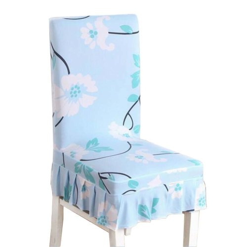 [Flowers-03] Stretch Dining Chair Slipcover Chair Cover Chair Protector