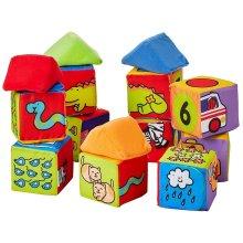Melissa & Doug Kids Soft Set Match and Build Blocks