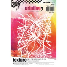 Carabelle Studio Art Printing A6 Rubber Texture Plate-Nonwoven