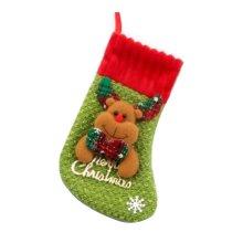 Lovely Creative Children's Large Christmas Stocking Funny Christmas Gift Bag