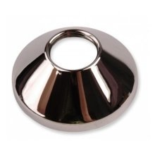 """1/2"""" Taper Chrome Plated Valve / Tap Cover Collar Rose Metal Collars Cone"""