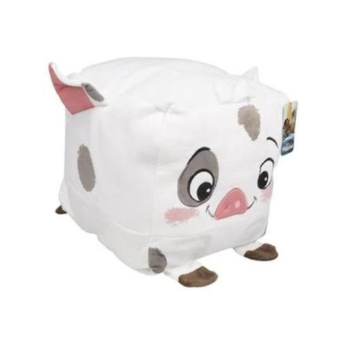 DDI 2323874 Moana Pua Pillow Cube - White - Case of 8