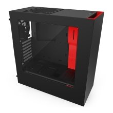 NZXT S340 Black/Red Mid Tower Case