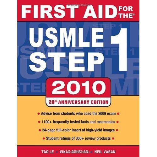 First Aid for the USMLE Step 1, 2010 (First Aid USMLE)