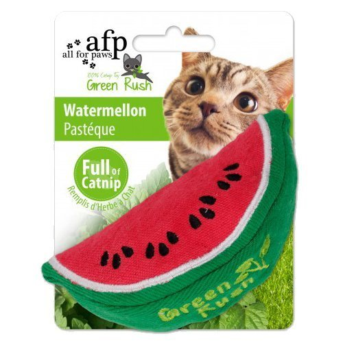 AFP Green Rush Watermelon with Catnip Cat Toy, 12 g