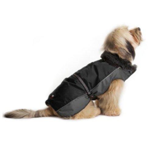 Dog Gone Smart Aspen Jackets Black / Grey 10''