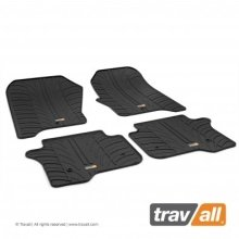 Travall Rubber Car Floor Mats [rhd] - Toyota Rav4 (2013-) (4pcs+fix)