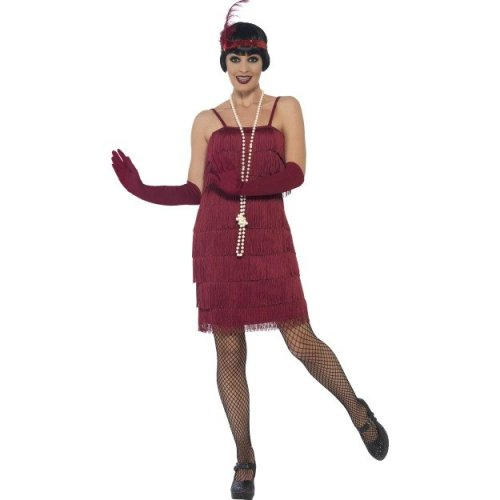 b33cf153196 Smiffy s 44675l Women s Flapper Costume (large) - Fancy Dress Ladies Womens  20s - flapper costume fancy dress ladies womens 20s charleston 1920s on  OnBuy