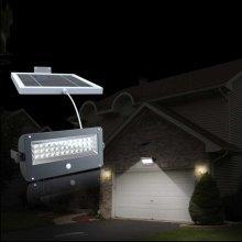 Solar Wall Lamp Motion & Dusk Till Down Detectors 44 LEDs 1K LM SUNLIGHT