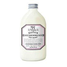 Mayfair Soap Foundry | Bubble Bath + Body Wash in Grapefruit Bergamot 16 oz | Gentle Cleanser to Soften & Renew Skin | ParabenFree, CrueltyFree