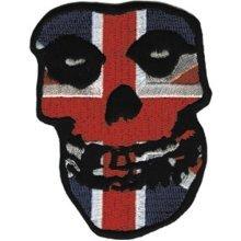 Application Misfits British Skull Patch