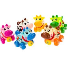 Set of 2 Lovely Animals Wind-up Toy for Baby/Toddler/kids, Calf(Color Random)