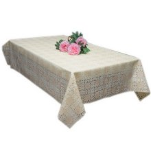 African Daisy PVC Rectangle Tablecloth 136 By 220 CM