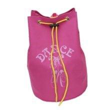 Dance Dags Shoulder Latin Ballet Drawstring Backpack Dance for Girls, Rose B