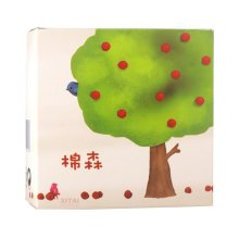 204pcs of Cosmetic Makeup Cotton Pads in Tree Pattern Box