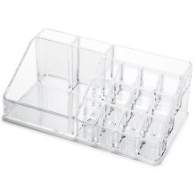 Clear Acrylic Cosmetic Organiser Makeup Lipstick Jewelry Display Box Tidy Case