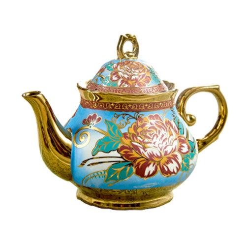 Luxurious Beautiful Tea Pot European style Ceramic Coffee Pot ornament
