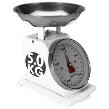 Gusta Kitchen Scales 5 kg White 01162010