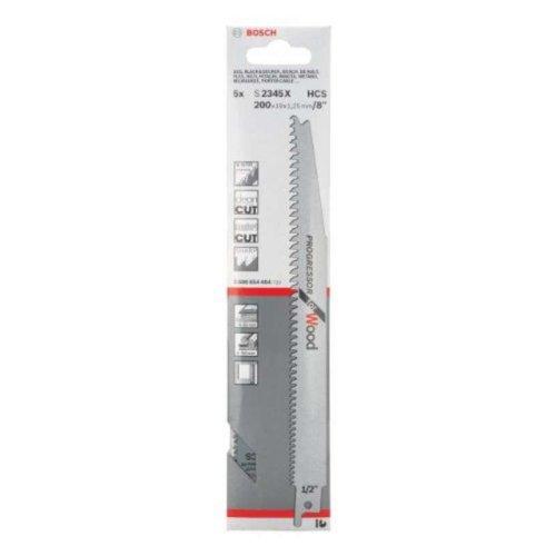 Bosch 2608654404 S2345X Sabre Saw Blade 5 Pack