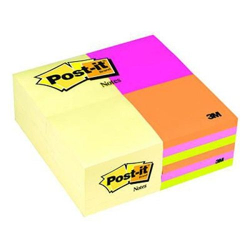 ea1dea65a 3M Company MMM654CYP24VA Post-It Notes Value Pack 3 X 3 Sorted Colors 24  Pads